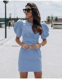Šaty - kód 9438 - svetlo modrá