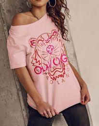 Tričko - kód 11721 - ružová