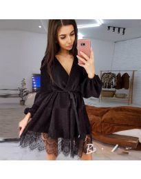 Šaty - kód 3738 - čierná