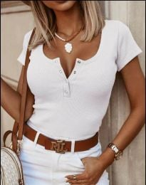 Tričko - kód 3233 - biela