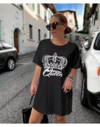 Šaty - kód 2525 - čierná