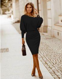 Šaty - kód 2242 - čierná