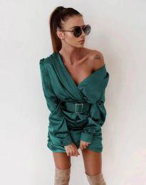 Šaty - kód 0659 - tyrkysová