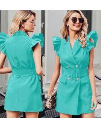Šaty - kód 311 - mentolová
