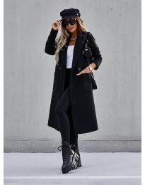 Kabát - kód 9493 - čierná