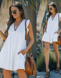 Šaty - kód 7141 - biela