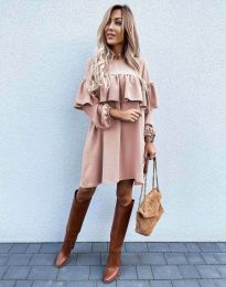 Šaty - kód 6913 - ružová