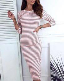 Šaty - kód 4081 - pudrová
