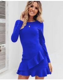 Šaty - kód 2909 - modrá