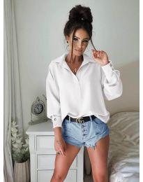 Košeľa - kód 9898 - biela