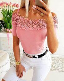 Tričko - kód 3912 - ružová