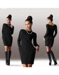 Šaty - kód 341 - čierná