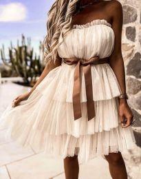 Šaty - kód 3065 - šampanské