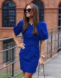 Šaty - kód 9438 - modrá