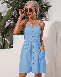 Šaty - kód 6271 - svetlo modrá
