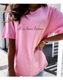 Tričko - kód 36755 - ružová