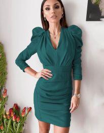 Šaty - kód 7937 - tyrkysová
