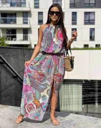 Šaty - kód 2674 - farebná