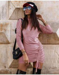 Šaty - kód 9545 - ružová