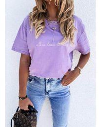 Tričko - kód 36755 - fialová
