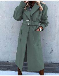 Kabát - kód 423 - olivová  zelená