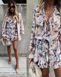 Šaty - kód 2728 - viacfarebné