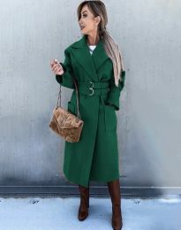 Kabát - kód 3784 - zelená