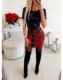 Šaty - kód 3512 - čierná
