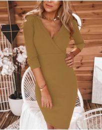 Šaty - kód 956 - hnedá