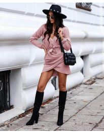 Šaty - kód 395 - ružová