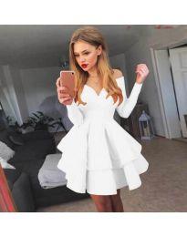 Šaty - kód 228 - biela