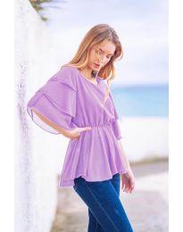 Tričko - kód 504 - světle fialová