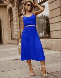Šaty - kód 1249 - modrá
