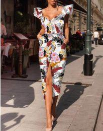 Šaty - kód 4469 - viacfarebné