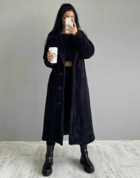 Kabát - kód 0465 - 1 - čierná