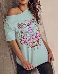 Tričko - kód 11721 - mentolová