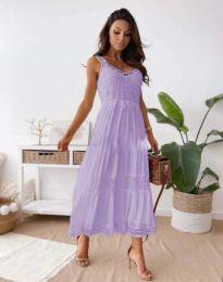 Šaty - kód 4672 - svetlo fialová
