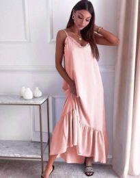 Šaty - kód 4671 - svetlo ružová