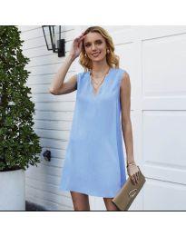 Šaty - kód 1429 - modrý