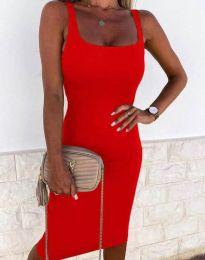Šaty - kód 8899 - červená