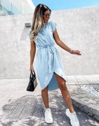 Šaty - kód 2074 - svetlo modrá