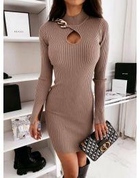 Šaty - kód 0771 - bežová