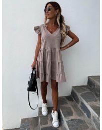 Šaty - kód 211 - bežová