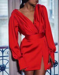 Šaty - kód 5324 - červená