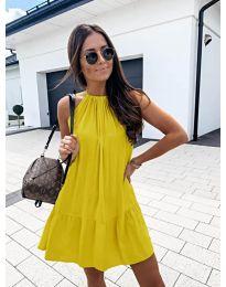 Šaty - kód 632 - žltá