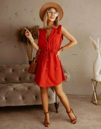 Šaty - kód 2702 - červená