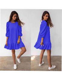 Šaty - kód 784 - modrá