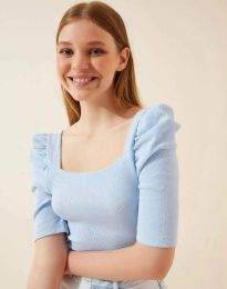 Tričko - kód 1300 - svetlo modrá