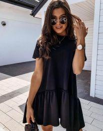 Šaty - kód 4465 - čierná