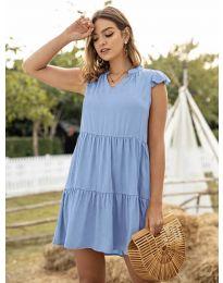 Šaty - kód 696 - modrý